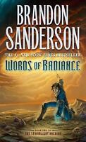 Words of Radiance : Stormlight Archive by Brandon Sanderson - NEW PAPERBACK