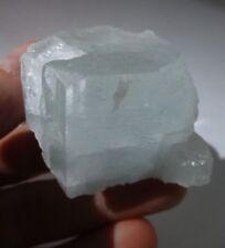 625Ct Aquamarine Beryl Flat top Crystal Natural Raw Facet Rough, Shigar Valley