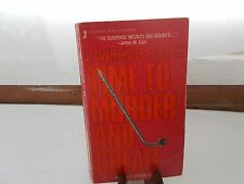 Time to Murder and Create (Matthew Scudder) PB Book