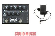 MXR Dunlop M-80 Bass Direct Box with Distortion D I + ( FREE POWER SUPPLY ) M80