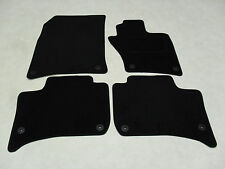 VW Touareg 2010-17 Fully Tailored Deluxe Car Mats in Black.