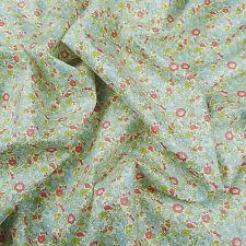 Liberty ~ Betsy Ann C Blue Tana Lawn Fabric / quilting dressmaking nursery