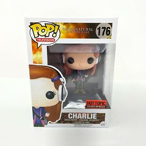 Hot Topic Exclusive Funko Pop! Television Supernatural 176 Charlie Vinyl Figure