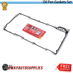For 2002-2014 Cadillac Escalade Oil Pan Block Off Plate Gasket Mahle 55652MM