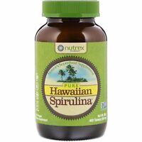 Nutrex Hawaii Pure Hawaiian Spirulina 500 mg 400 Tablets All-Natural,
