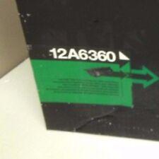 HUGE LOT of 10 Genuine Sealed Lexmark 12A6360 Toner Cartridge T620 T622