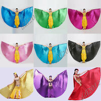 Indian Egyptian Egypt Belly Dance Costume Isis Wings Dance Wear Wing No Sticks