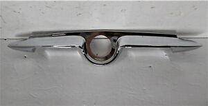 NOS 1954 54 Plymouth Trunk Deck Lid Handle /  Bezel 1542625