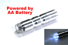 AA Battery Powered Portable External Charger Pack Power Bank w/4 LED Flashlight