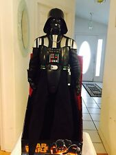 STAR WARS GIANT SIZE DARTH VADER 31 inch Action Figure Real Fabric Cape