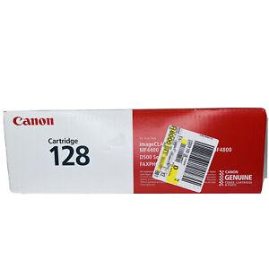 Genuine Canon 128 Monochrome Laser Printer Cartridge New Sealed Box