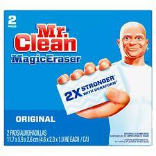 Mr. Clean Magic Eraser Original, Cleaning Pads with Durafoam, 2 count