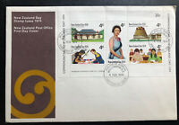 1974 Wellington New Zealand First Day Cover FDC To Canada Country Day