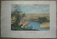 1880 Reclus print VILNIUS, LITHUANIA (#35)