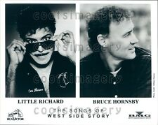 Piano Legends Little Richard Bruce Hornsby West Side Songs Press Photo