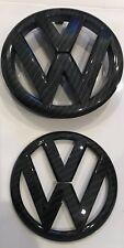 New VW Carbon Fiber Emblem Jetta-Sedan 2011-14 MK6 Volkswagen Front And Back