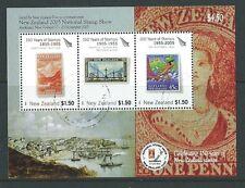 Nueva Zelanda 2005 nacionales mostrar sello, Aukland Miniatura Hoja Fine Used