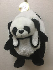 Kreative Kids Plush Backpack With Removable Panda Plush Toy