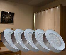 LED Unterbauleuchte Set Möbel- und Vitrinenleuchten Aufbauleuchten Mod. 2355-56