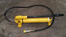 Hydraulic hand pump porta pack  machinery  900cc 2 speed