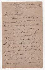 English Author THOMAS C. GRATTAN Autograph Letter