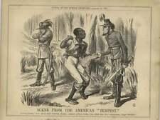 1863 PROCLAMAZIONE Lincoln aiuta a SCHIAVI contro Confederate Davis