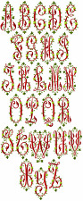 "ABC Designs Victoriana Font Machine Embroidery designs 5""x7"" hoop"