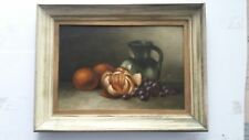 "Listed USA Artist - George McConnell (1852-1929) Oil / board -13"" x 18.5"" Signed"