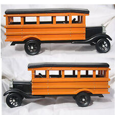 Case of 12 - 1927 All Wood School Bus Replicas