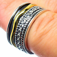 Meditation Spinner 925 Sterling Silver Ring Size 6 Ana Co Jewelry R26056F