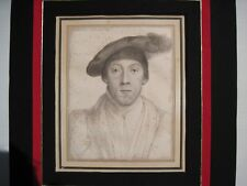 Hans Holbein Portraits of Henry Howard, Earl of Surrey and Wife PRICE REDUCED