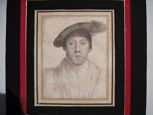 Hans Holbein Portraits of Henry Howard, Earl of Surrey and Wife REDUCED PRICE