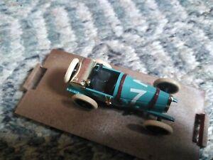 Brumm Bugatti Brescia HP40 1921 Blue 1:43 Diecast R39 wrong base
