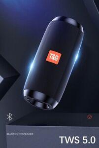Portable Bluetooth Speaker Wireless Bass Column Waterproof Outdoor Speakers Boom