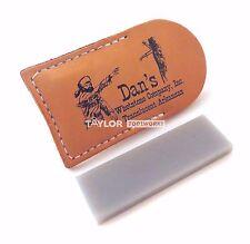 Dan's Arkansas Translucent (X Fine) Pocket Knife Sharpening Stone Tap-13A-L