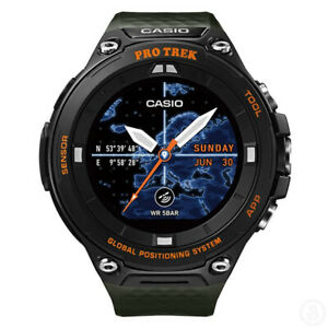 CASIO PRO TREK SMART GPS Bluetooth Wi-Fi Color Map Watch ProTrek WSD-F20A-GN
