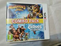 Madagascar 3 & The Croods Combo Pack - Nintendo 3DS game - Age 3+ PAL
