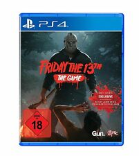 Friday The 13th The Game, Online ps4 nuovo + pellicola in
