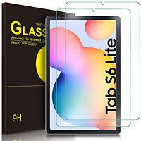Film Verre Trempé Pour Samsung Galaxy Tab S6 Lite 10.4 Full de Protection 9H