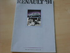 52139) Renault R19 16V Phase I Alpine A610 Espace Polen Prospekt 1991