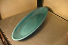 "Pottery Barn ""Sausalito Colorful Serve"" 11"" Snack Tray Greenish Looks Unused"