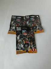 NEW NFL Lego buildable mini figure (Series 1) Blind Bags X 3