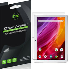 [3-Pack] Dmax Armor Clear Screen Protector for Dragon Touch K10 Tablet 10.1 inch