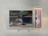 2018 Topps Update Ronald Acuna Jr Rookie #US252 Gem Mint PSA 9 RC Braves Debut