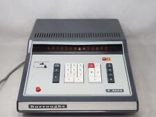 Vintage BURROUGHS C 3200 Adding Machine 1970's RARE! Nixie Tube Free Shipping!