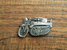 "NSU KETTENRAD VEST PIN ~1"" x 5/8"" MOTORCYCLE 1939 LAPEL HAT BADGE BROCHE WWII"