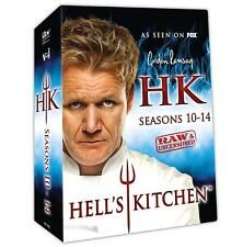 Hell's Kitchen Seasons Series 10, 11, 12, 13 & 14  DVD Box Set New Sealed