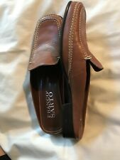 Franco Sarto Brown Leather Mules Slides Driving Flats Shoes Size 6M