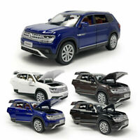 1:32 Scale VW Teramont SUV Model Car Diecast Toy Vehicle Pull Back Sound Gift