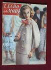 1957 L'écho de la mode N°52 Hebdomadaire féminin vintage couture rétro